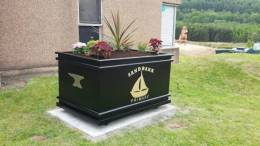 Ornamental Planter Donated To Sandbank Primary School